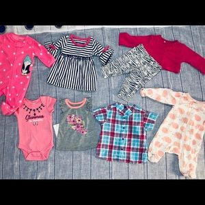 Girls Newborn 0-3 Month Bundle